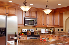 KC Mocha Kitchen Cabinets