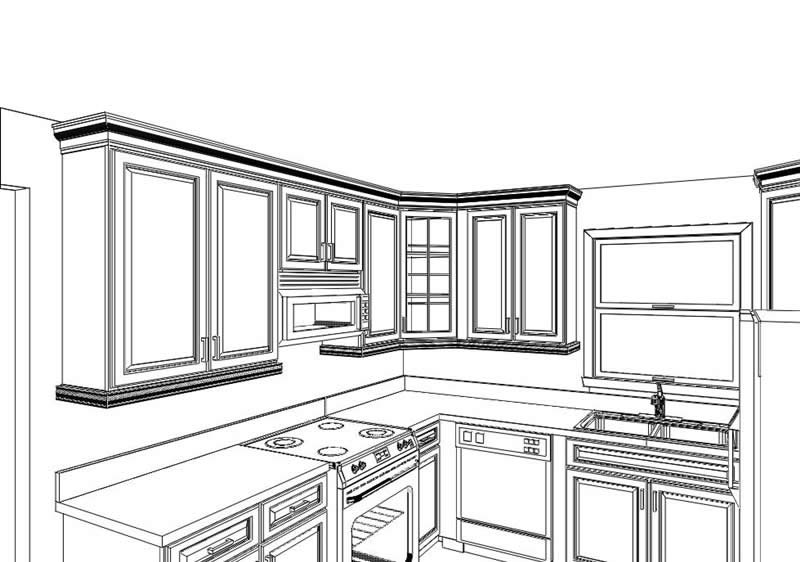 How to get started with kitchen and bathroom restorations for 3d drawing kitchen